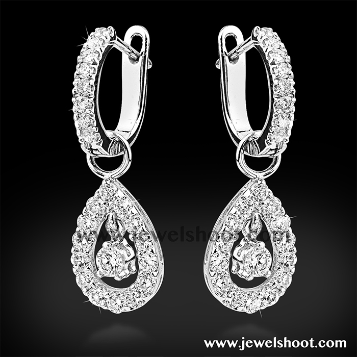 Diamond earring 10