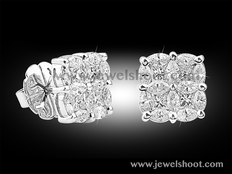 Diamond earring 12