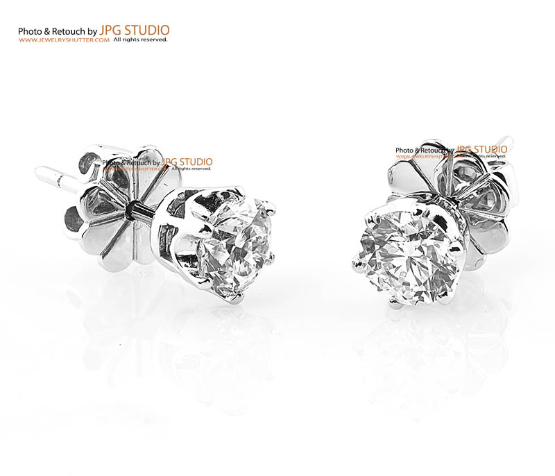 Diamond earring 14