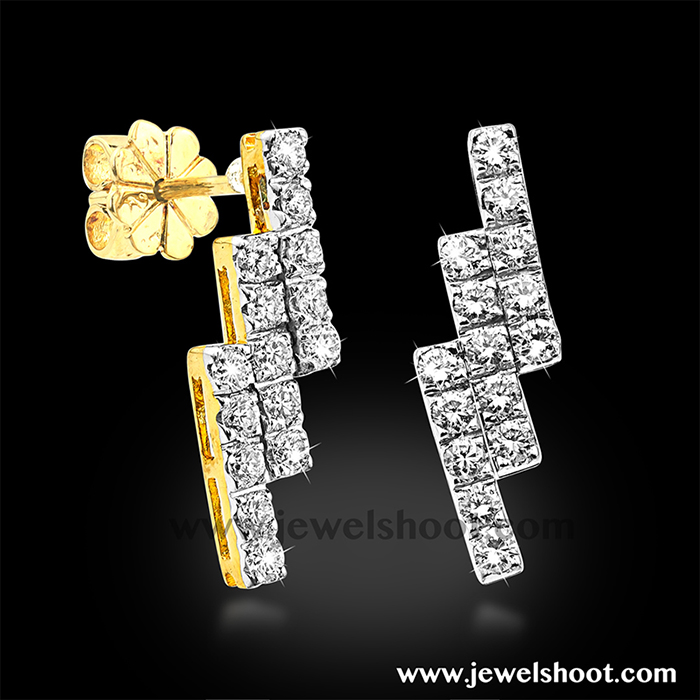 Diamond earring 2