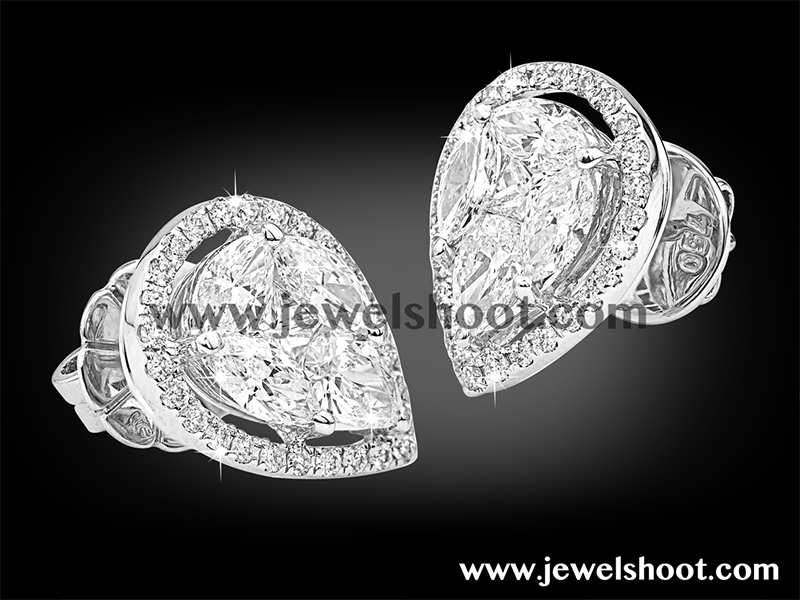 Diamond earring 7