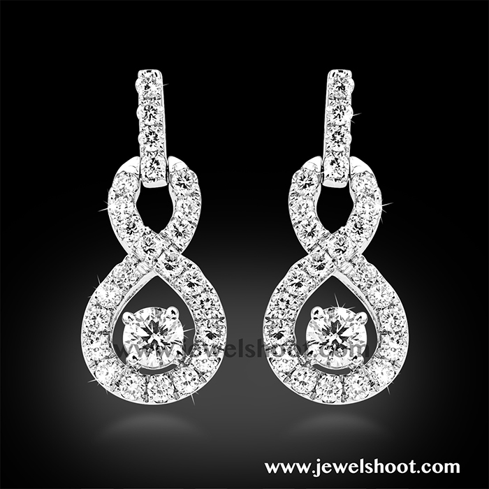 Diamond earring 8