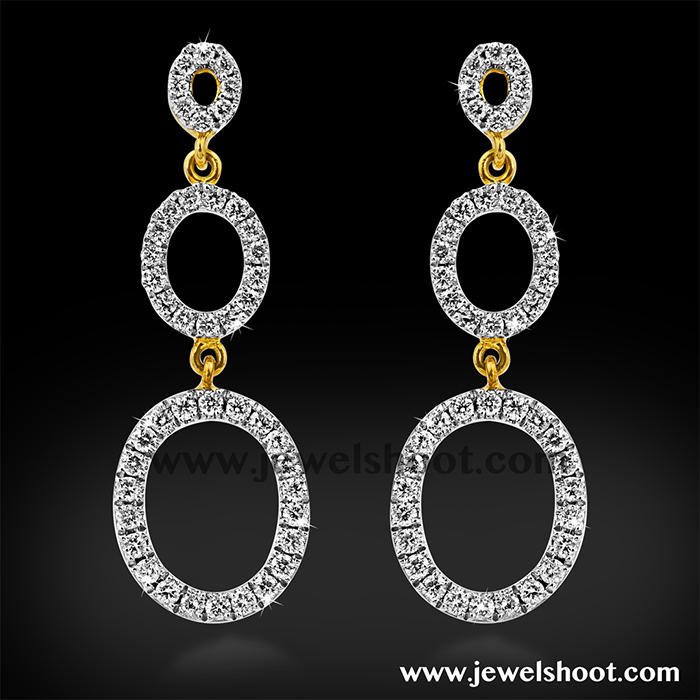 Diamond earring 9