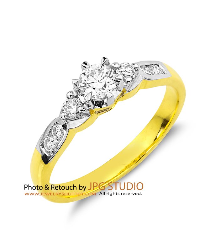 diamond gold ring 3