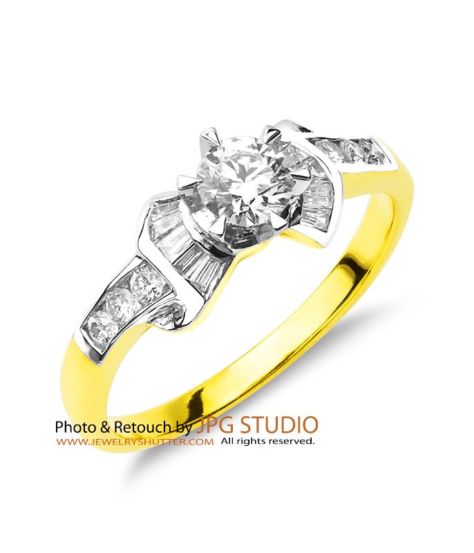 diamond gold ring 7