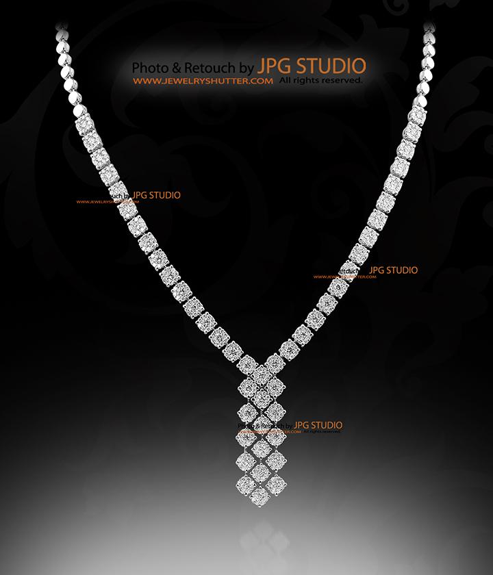 diamond necklace 5